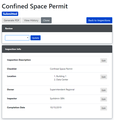 Confined Space Customizable Template