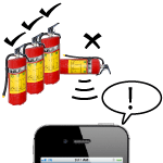 Simple But Needed builds mobile fire extinguisher inspection software for iPods, iPhones and Androids.