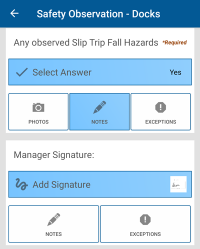 File GEMBA cases in the field from your mobile device
