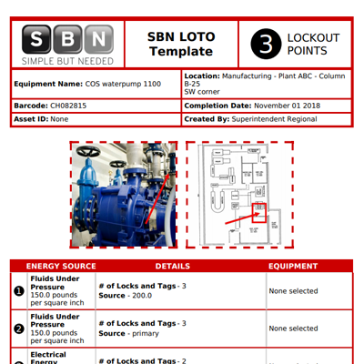 Lockout Tagout reporting made simple